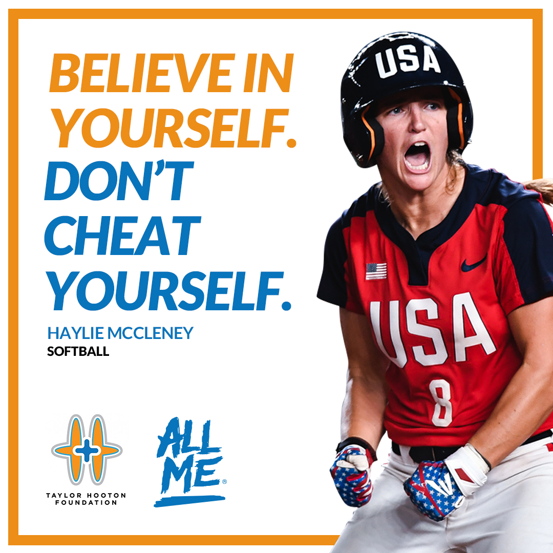 ELITE PROFESSIONAL SOFTBALL PLAYER HAYLIE McCLENEY  JOINS TAYLOR HOOTON FOUNDATION'S ALL ME® ADVISORY BOARD